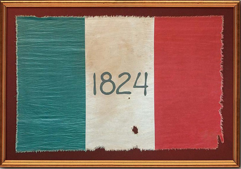 Alamo Flag Gallery Of The Republic